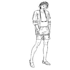 mannequin, illustration