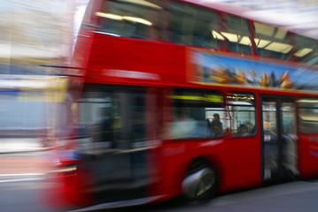 Foto op Aluminium Londen rode bus London Bus 1