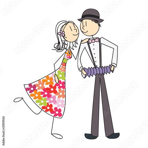 Couple accord on guinguette photo libre de droits sur la banque d 39 images image - 14 ans de mariage noce de quoi ...