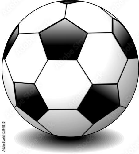 Pallone da calcio soccer ball vector immagini e - Pagina da colorare di un pallone da calcio ...
