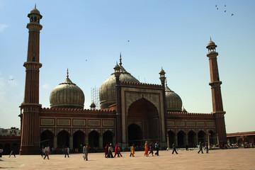 Printed roller blinds Delhi Jama_Masjid_1