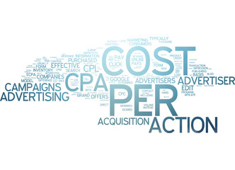 Cost per Action (CPA) - Internet Marketing