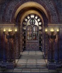 Fototapeta Świątynia fantasy 9 obraz