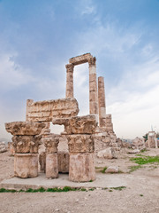 Temple of Hercules in Amman