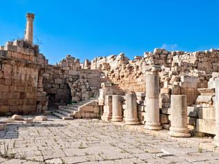 Roman temple, Jerash