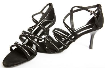 New elegant shoes on high heel