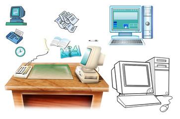 パソコン-事務