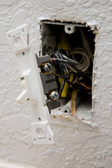Damaged Wiring