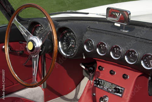classic italian sports car interior from the 1950ies stock photo and royalty free images on. Black Bedroom Furniture Sets. Home Design Ideas