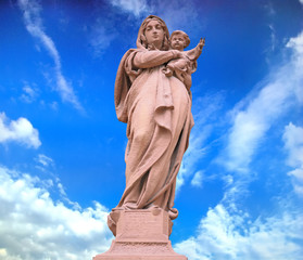 Statue of Divine Mother