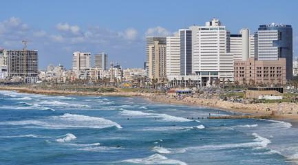 Tel-Aviv seashore