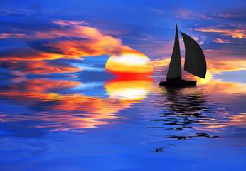 el cielo en el agua