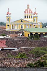 the cathedral of granada nicaragua