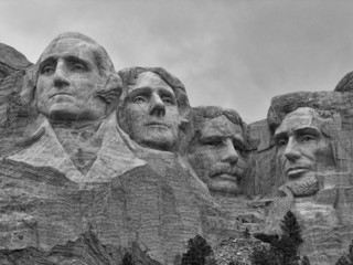Fototapete - Mount Rushmore, South Dakota