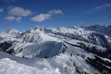 montagne neige hiver