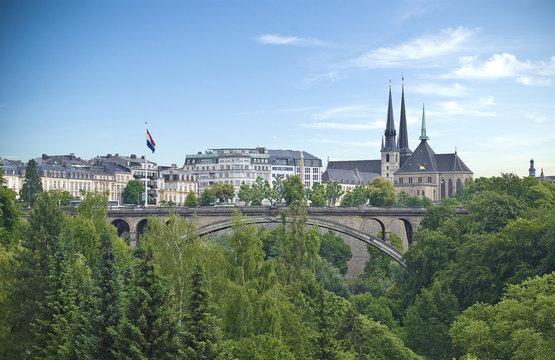 Luxembourg city scene
