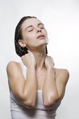 Wet woman