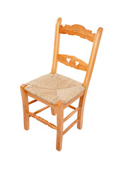 Wooden chairo of home