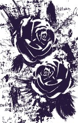 romance rose design