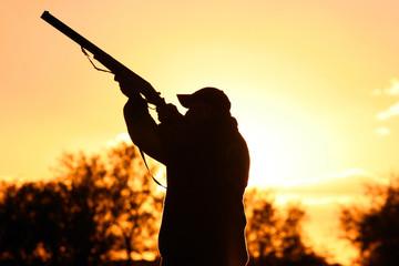 Fototapeten Jagd Murtoli chasse au canard
