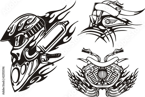 u0026quot helmet of the biker  front part of a motorcycle  u0026quot  stock