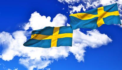 Drapeaux suédois