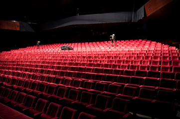 Chairs in theater
