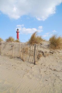 Phare à la plage