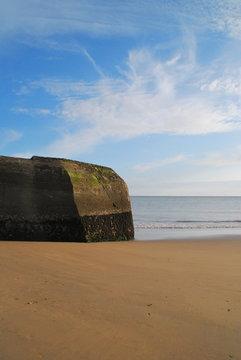 Un bunker à la plage