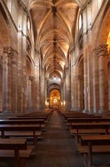 Saint Peter's Church interior in Avila