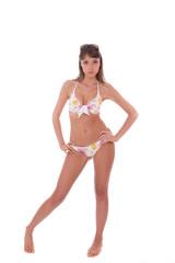 Beautiful bikini model