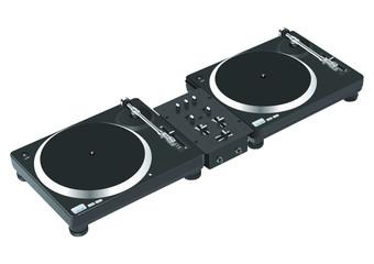 Mixstation Plattenteller