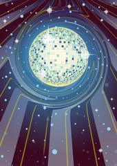 Supernova Disco Ball
