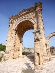 Roman Triumphal Arch at Tyre, Lebanon