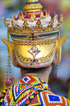 manorah,ancient traditional southern thai dancing show