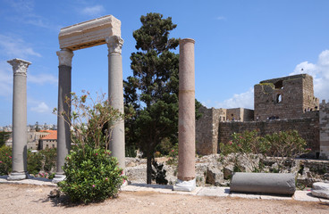 Byblos Archaeological Site, Lebanon