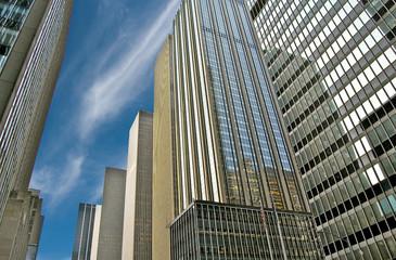 Immeubles et buildings d'affaires à New York