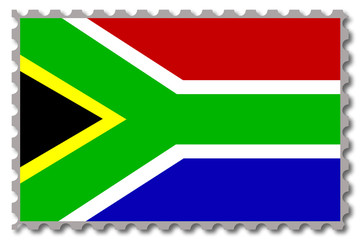 Südafrika, Briefmarke