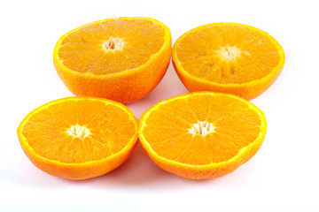 saftige Orange