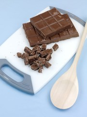 Chopped Cooking Chocolate