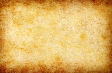 abstract grunge yellow background