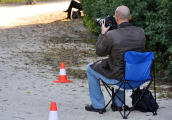 Il fotografo al parco