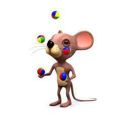 3d juggling mouse