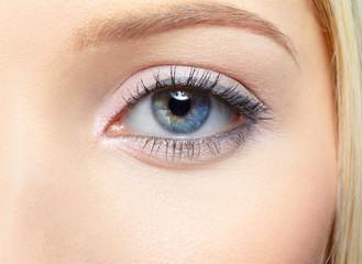 girl's eye-zone portrait