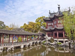 Jardin Yu Yuan à Shanghai - China