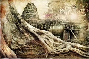 hidden khmer' temple - remains of ancient civilisation