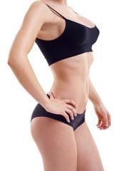 nice woman's  body