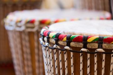 Afrikanische Trommeln