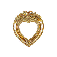 Old Love In Heart Picture Frame