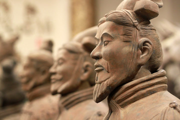 Photo sur cadre textile Chine Terracotta warriors, China